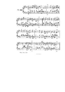 Choix de chorals: Choral No.146 by Иоганн Себастьян Бах