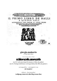 Schiarazula marazula: For flute and guitar by Джорджо Майнерио