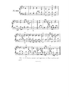 Choix de chorals: Choral No.151 by Иоганн Себастьян Бах