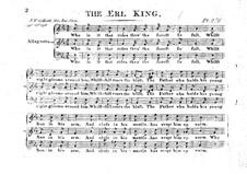 Лесной царь: Лесной царь by John Wall Callcott