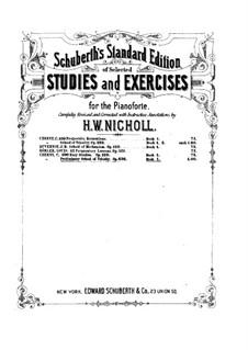 Подготовительные этюды, Op.636: Этюды No.1-9 by Карл Черни
