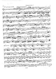 Струнные квинтеты, Op.45: Квинтет No.1 до минор, G.355 by Луиджи Боккерини