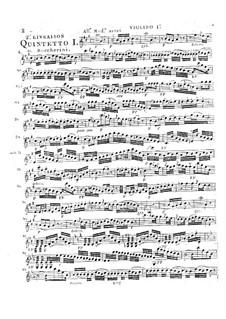 Струнные квинтеты, Op.45: Квинтет No.2 ля мажор, G.356 by Луиджи Боккерини