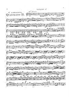 Струнные квинтеты, Op.49: Квинтет No.1 ре мажор, G.365 by Луиджи Боккерини