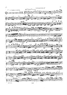 Струнные квинтеты, Op.49: Квинтет No.2 си-бемоль мажор, G.366 by Луиджи Боккерини