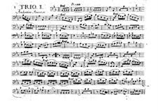 Шестьструнных трио, Op.6: Партия виолончелей, G.89-96 by Луиджи Боккерини