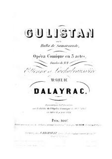 Gulistan: Gulistan by Николя-Мари Далайрак