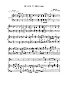 Флородора: No.5 Chorus of Welcome by Лесли Стюарт