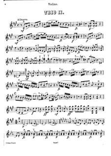 Фортепианное трио No.40 фа-диез минор, Hob.XV/26: Партия скрипки by Йозеф Гайдн