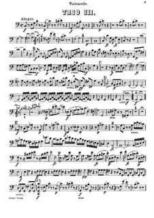 Фортепианное трио No.43 до мажор, Hob.XV/27: Партия виолончели by Йозеф Гайдн