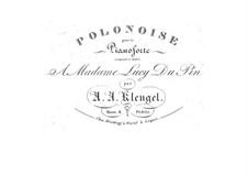 Полонез ми мажор, Op.8: Полонез ми мажор by Август Александр Кленгель