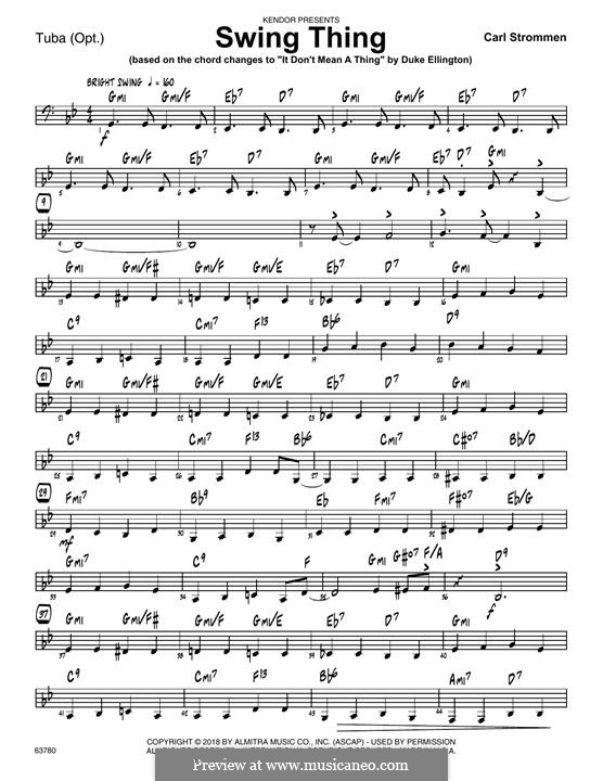 Swing Thing: Партия тубы by Carl Strommen