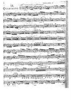 Струнные квартеты, Op.32: Квартет No.1 ми-бемоль мажор, G.201 by Луиджи Боккерини