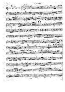 Струнные квартеты, Op.32: Квартет No.3 ре мажор, G.203 by Луиджи Боккерини