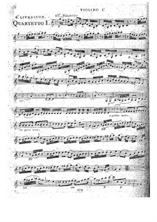 Струнные квартеты, Op.32: Квартет No.4 до мажор, G.204 by Луиджи Боккерини