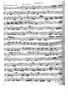 Струнные квартеты, Op.32: Квартет No.5 соль минор, G.205 by Луиджи Боккерини