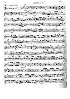Струнные квартеты, Op.32: Квартет No.6 ля мажор, G.206 by Луиджи Боккерини