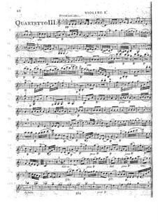 Струнные квартеты, Op.41: Квартет No.1 до минор, G.214 by Луиджи Боккерини