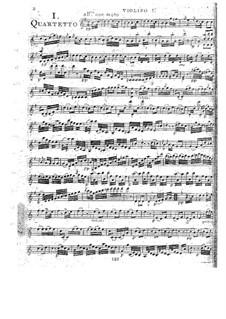 Струнные квартеты, Op.52: Квартет No.3 соль мажор, G.234 by Луиджи Боккерини