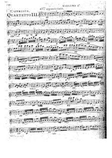 Струнные квартеты, Op.52: Квартет No.4 фа минор, G.235 by Луиджи Боккерини