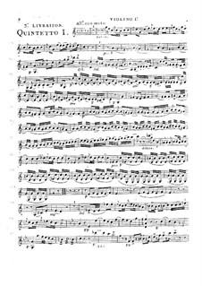 Струнные квинтеты, Op.28: Квинтет No.4 до мажор, G.310 by Луиджи Боккерини