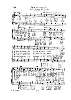 Gesänge für Männerchor, Op.22: Nr.3 Reitelied by Иоганн Дюррнер