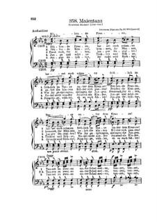 Gesänge für Männerchor, Op.22: Nr.6 Maientanz by Иоганн Дюррнер