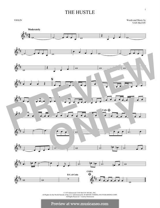The Hustle: Для скрипки by Van McCoy