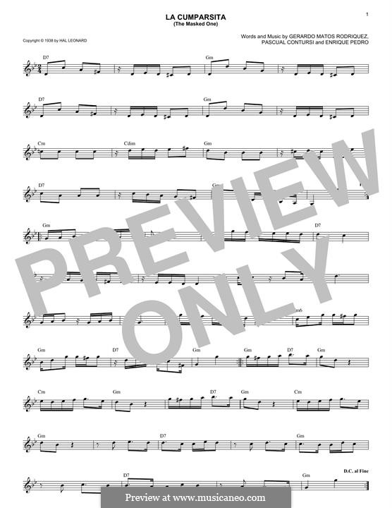 La Cumparsita: Для клавишного инструмента by Gerardo Hernan Matos Rodriguez