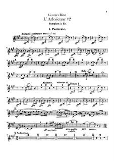 Сюита II: Партия саксофона by Жорж Бизе