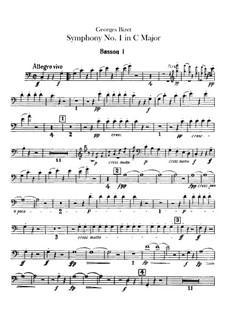 Симфония No.1 до мажор: Партии фаготов by Жорж Бизе