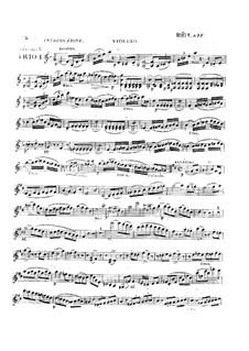 Три струнных трио, Op.5: No.1 – Партии by Александр Пьер Франсуа Боэли