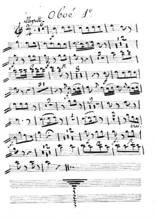 Калиф Багдадский: Ma Zetulbé – oboe I part by Адриен Буальдье
