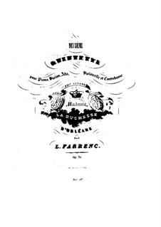 Квинтет для фортепиано и струнных No.2, Op.31: Партия фортепиано by Луиза Фарранк