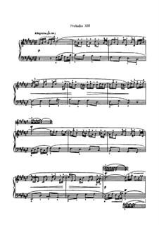 Избранные пьесы: часть II (для фортепиано) by Иоганн Себастьян Бах