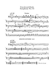 Симфония No.95 до минор, Hob.I/95: Партия литавр by Йозеф Гайдн