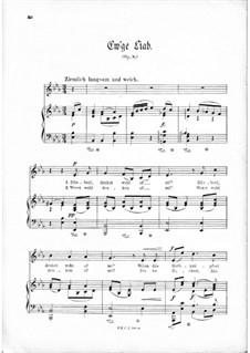 Ew'ge Liab, Op.8: Ew'ge Liab by Томас Кошат