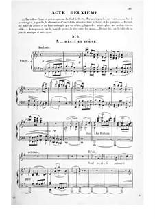 Асторга: Акт II, для солистов, хора и фортепиано by Иоганн Йозеф Аберт