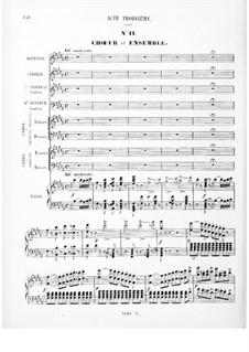 Королева Египта: Акт III, для солистов, хора и фортепиано by Фроменталь Галеви