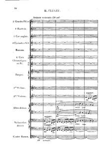 Сюита для оркестра No.2, Op.38: Части  II, III by Эмиль Бернар