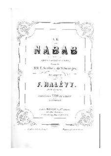 Богач: Увертюра и Акт I, для солистов, хора и фортепиано by Фроменталь Галеви
