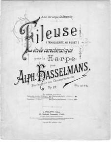 Fileuse. Etude caracteristique, Op.27: Fileuse. Etude caracteristique by Альфонс Хассельманс