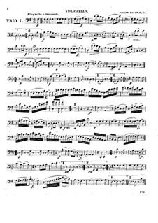 Три струнных трио, Hob.XVI/40-42 Op.53: Партия виолончели by Йозеф Гайдн
