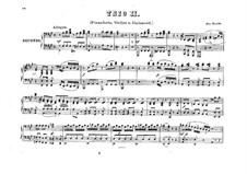 Фортепианное трио No.40 фа-диез минор, Hob.XV/26: Версия для фортепиано в 4 руки by Йозеф Гайдн
