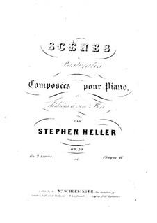 Пасторальные сцены, Op.50: Сцена No.1 by Стефан Геллер
