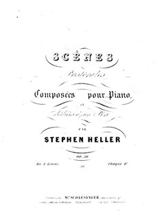 Пасторальные сцены, Op.50: Сцена No.2 by Стефан Геллер