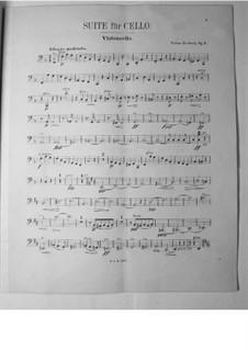 Сюита для виолончели с оркестром, Op.3: Партия виолончели by Виктор Герберт