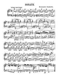 Соната No.490 соль мажор, K.523 L.490 P.527: Для фортепиано by Доменико Скарлатти