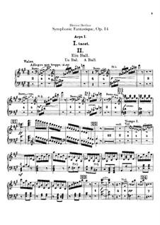 Фантастическая симфония, H.48 Op.14: Партии арф by Гектор Берлиоз