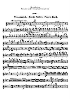 Большая траурно-триумфальная симфония, H.80 Op.15: Партии гобоев by Гектор Берлиоз
